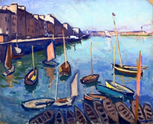 the-port-le-havre-1906