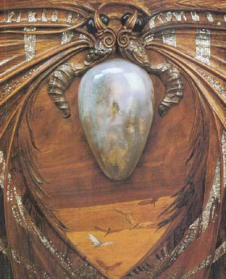 Detail-lit-aube-et-crepuscule---Emile-Galle